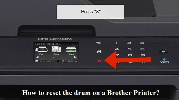 reset the drum on a Brother Printer